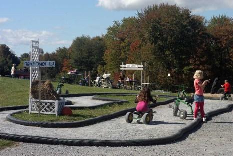 pedal park at Ellms Farm