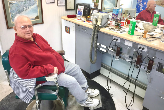 jack the barber, battling cancer, hangs up his shears - the