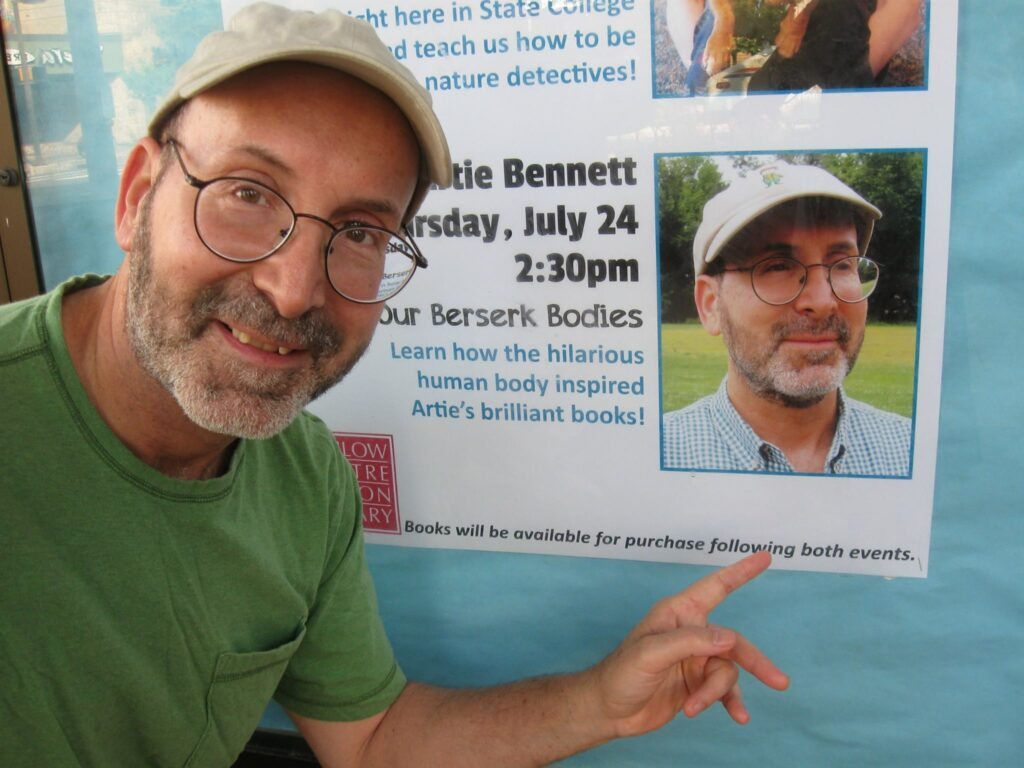 Children's Author Artie Bennett