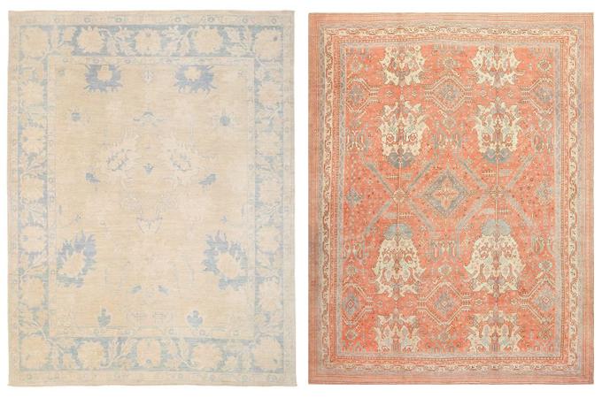 oushak rug round up www.ellymacdonalddesign2
