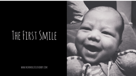 The First Smile - (c) mummalifelovebaby