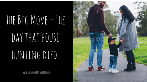 The Big Move - The day that house hunting died.