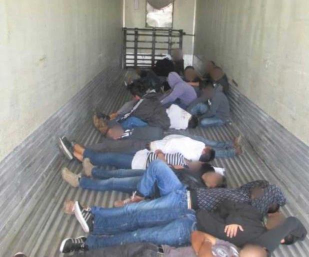 Buscaron un fugitivo y localizaron a 46 inmigrantes