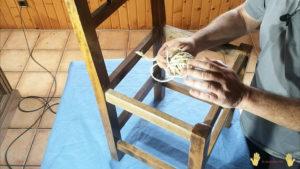 cuerda para encordar silla