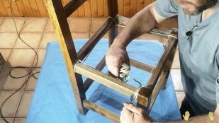 cuchara para apretado de la cuerda