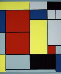 Composición - Piet Modrian