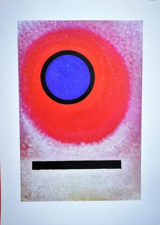 Kandinsky Vasily, Eye, Reproducción, editado por la Galerie Maeght Paris, 77×55 cms. (11)