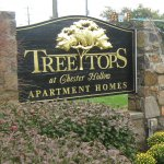 Stone monument with refinished 23-karat wood carved sign- West Chester, PA