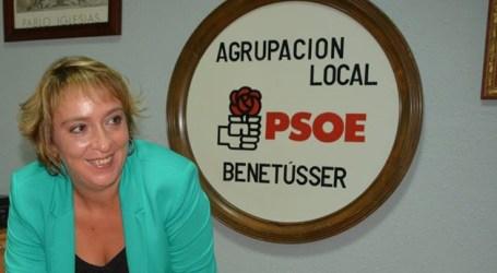 Eva Sanz, elegida candidata socialista a la alcaldía de Benetússer