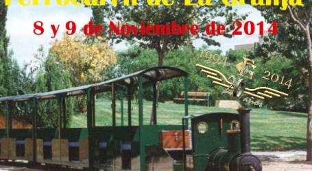 El tren de La Granja de Burjassot cumple 20 años