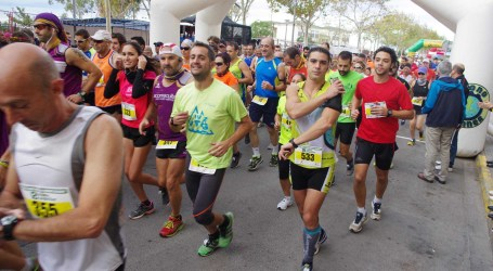 Xirivella congrega a más de 600 corredores en su Media Maratón