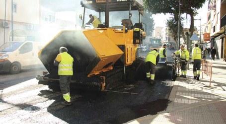 Mislata pone en marcha el proyecto de repavimentación de calles