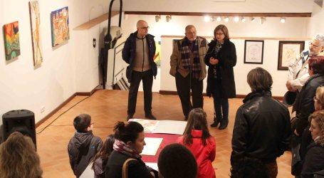 Enrique Sereno inaugurà en Alaquàs l'exposició 'Sueños y Fantasía'