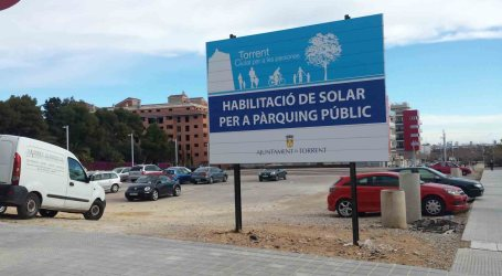 El PP de Torrent ha creado cerca de mil plazas de aparcamiento gratuito desde 2007