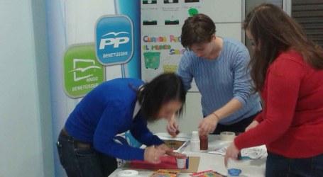 El PP de Benetússer organiza talleres infantiles, el último sobre Medio Ambiente