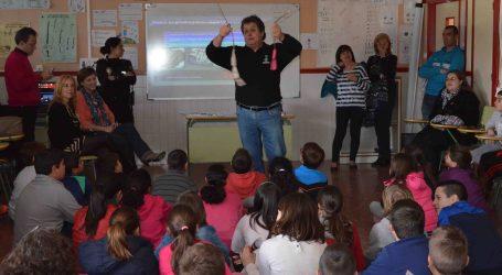 Los escolares de Benetússer reciben charlas sobre el uso de los petardos
