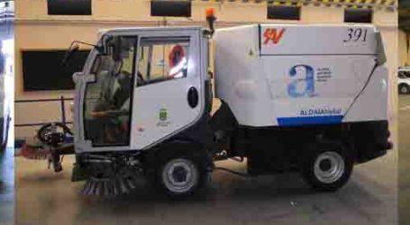 Aldaia renueva su servicio de limpieza viaria