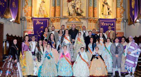 Las fallas de Paiporta rinden tributo a la Virgen de los Desamparados