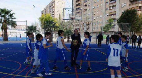 El barrio de la Luz de Xirivella estrena un renovado polideportivo