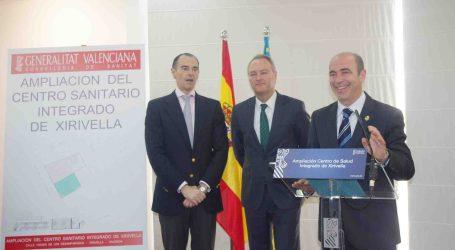 Fabra visita las obras de ampliación del Centro de Salud de Xirivella