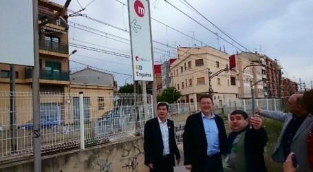 El Ayuntamiento de Burjassot solicita a la Generalitat la supresión de las vías del Metro en la calle Valencia
