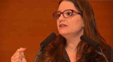 Oltra afirma que la ley LGTBI «repara injusticias y amplía derechos»