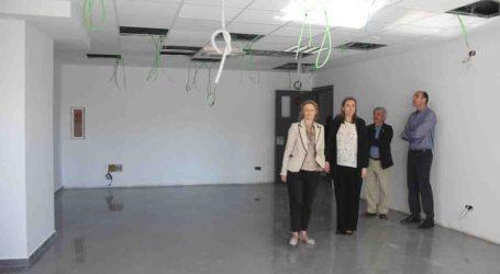 Concluyen las obras del nuevo aulario de la Escuela Oficial de Idiomas de Torrent