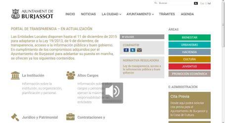 El Ayuntamiento de Burjassot muestra la transparencia de su gestión
