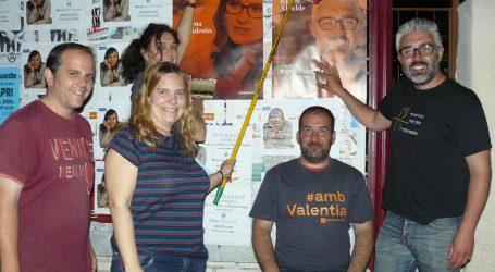Compromís por Paterna define esta campaña electoral como «la de la calle» y «sucia en la lucha por el voto»