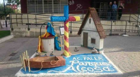 Las fallas de Alfafar celebran las Cruces de Mayo