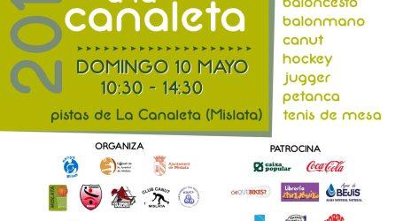 Mislata celebra el próximo domingo Esport a la Canaleta
