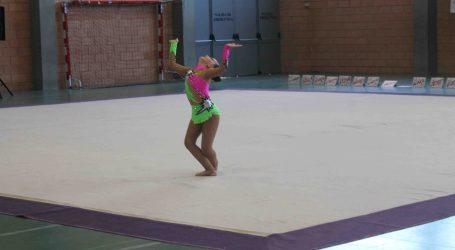 Aldaia acogió el Campeonato de la Comunidad Valenciana de gimnasia rítmica