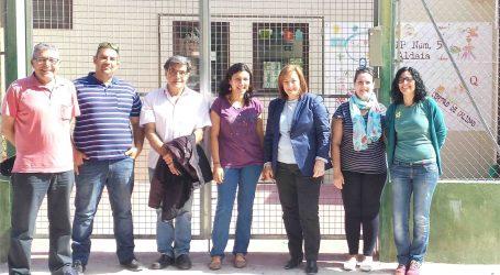 Marga Sanz visita el CEIP 5 de Aldaia y reclama un nuevo colegio para los alumnos