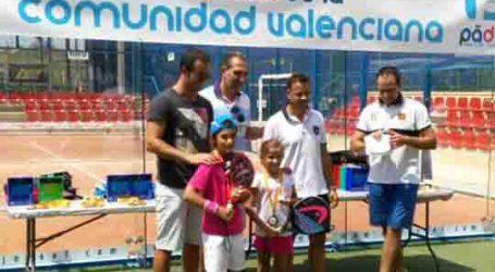 La xiqueta d'Alaquàs, Lucia Peralta, subcampiona del Campionat Autonòmic de Pàdel