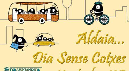 Aldaia celebra el próximo martes el día sin coches