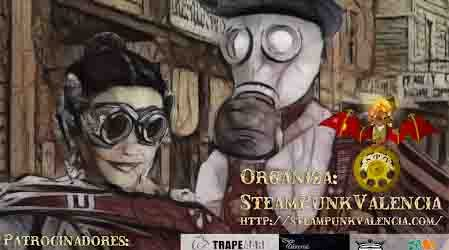Este fin de semana llega la segunda edición del Steamfantasy a Burjassot y con ella, la conquista del Oeste