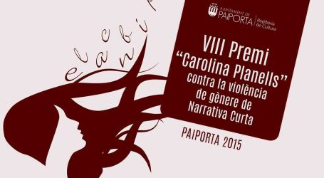 Convocado el VIII Premio Carolina Planells de Paiporta