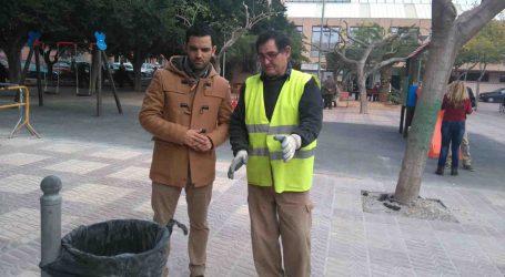 El alcalde de Paterna visita las obras del Clot que están realizando vecinos contratados por el Ayuntamiento