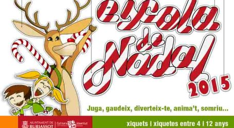 Burjassot pone en marcha su primera Escola de Nadal