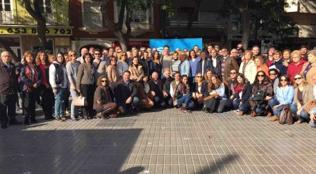 El PP de Torrent celebró su acto central de campaña 'a peu de carrer'
