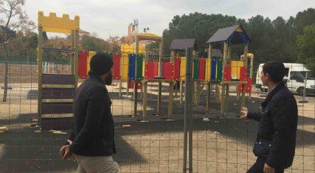 Burjassot estrenará en unos días el nuevo parque infantil en el Parque de La Granja
