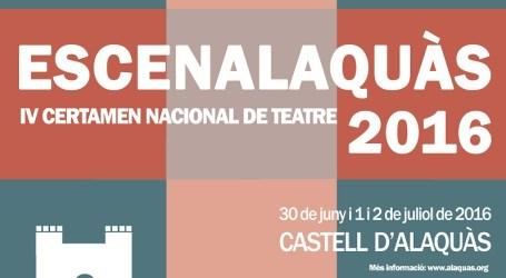Comienza el Certamen Nacional de Teatro Escenalaquàs