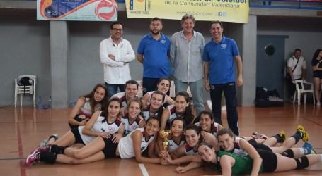 El Club Voleibol Sedavi Juvenil Femenino asciende a Primera Autonómica