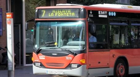 Los autobuses de la EMT de València llegarán a Sedaví