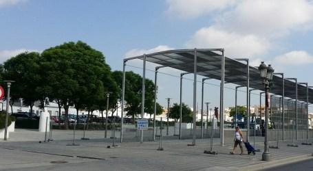Paterna se prepara para las Fiestas Mayores con el montaje del Cohetódromo