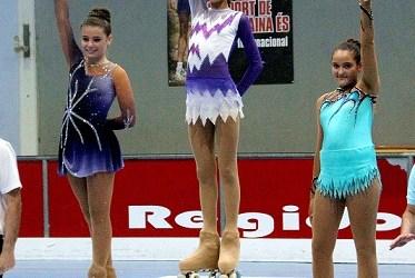 La paiportina Maria Aguado es classifica para la fase nacional de patinatge artístic