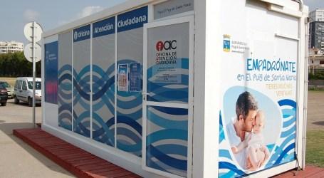 El Ayuntamiento de El Puig atenderá a los ciudadanos desde la playa