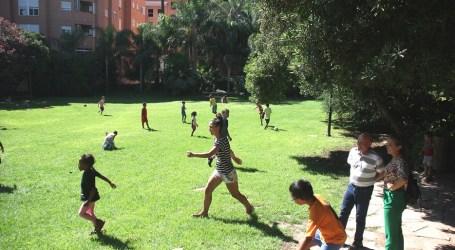 Los niños y niñas del Campus Social visitan l'Hort de Trénor