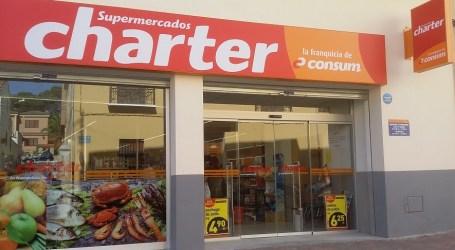 Charter, la franquicia de Consum, abre 15 supermercados  durante el primer semestre del año