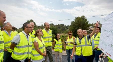 La Diputación financiará con 154.500 euros el traslado de la red de agua potable de la CV-415 en Picassent
